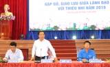 Lãnh đạo tỉnh Long An gặp gỡ, giao lưu với thiếu niên, nhi đồng năm 2019