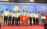 Hai phát minh của đoàn học sinh Hà Nội giành huy chương vàng quốc tế
