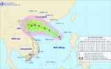 Áp thấp nhiệt đới có khả năng mạnh thêm, di chuyển hướng Tây Tây Bắc