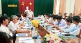 Phó Chủ tịch UBND tỉnh Long An – Nguyễn Văn Út kiểm tra công tác giải phóng mặt bằng tại Bến Lức
