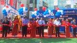 Sacombank khánh thành trụ sở mới Phòng Giao dịch Cần Giuộc