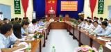 Thanh tra Bộ Công an kiểm tra công tác thi hành án hình sự tại Cần Giuộc