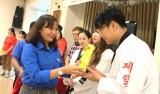 Kết thúc hoạt động tình nguyện, giao lưu văn hóa của thanh, thiếu niên tỉnh Chungcheongnam tại Long An