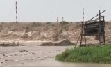 Sóng lớn kỷ lục, nguy cơ vỡ đê phòng hộ ở Cà Mau