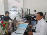 Long An: Ngày làm việc đầu tiên ở Chi cục Thuế khu vực khá thuận lợi