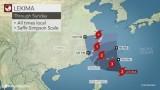 Siêu bão mạnh nhất trong 5 năm chuẩn bị đổ bộ vào Trung Quốc