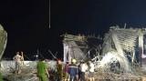 Hải Phòng: Sập giàn giáo khiến một người chết, nhiều người bị thương