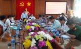Ban Bí thư Trung ương Đảng kiểm tra kết quả thực hiện Nghị quyết Trung ương 4 (khóa XII) tại Bến Lức