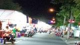 Chợ đêm Tân An hoạt động trở lại