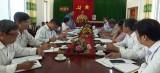 Cục Trồng trọt - Bộ NN&PTNT làm việc tại Tân Trụ về chuyển đổi cây trồng trên đất lúa