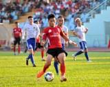 Giải bóng đá hạng Nhất quốc gia: Long An 'vùi dập' Huế với tỷ số 5-1