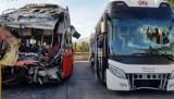 2 xe khách tông nhau trong đêm, 1 người chết và 24 người bị thương