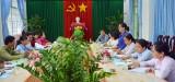 Hội LHPNVN tỉnh Long An giám sát an toàn thực phẩm tại Cần Giuộc