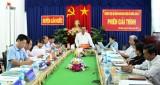 Thường trực HĐND huyện Cần Đước tổ chức phiên giải trình