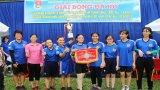 Sôi nổi Giải bóng đá mini nữ Đoàn khối Cơ quan và Doanh nghiệp tỉnh Long An