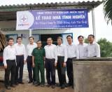 Tổng Công ty Điện lực miền Nam trao nhà tình nghĩa tại Long An