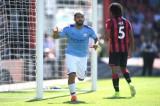 Sergio Aguero lập cú đúp, Man City dễ dàng đánh bại Bournemouth