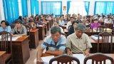 TP.Tân An lấy ý kiến sự hài lòng của người dân về xây dựng nông thôn mới