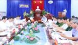 Tiểu ban Văn kiện Đại hội Đảng bộ tỉnh Long An làm việc tại Cần Đước