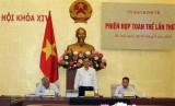 Ủy ban Kinh tế của Quốc hội họp phiên toàn thể lần thứ 11