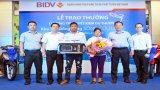 """BIDV trao thưởng """"Tiết kiệm dự thưởng khu vực Đồng bằng sông Cửu Long năm 2019"""" tại Long An"""