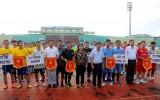 Công đoàn Sở Y tế Long An tổ chức giao lưu bóng đá mini