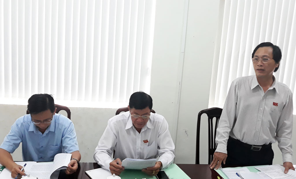 Head of Committee of Culture and Social Affairs of the provincial People's Council - Truong Van Nam highly appreciated the efforts of the DoIC in carrying out the assigned tasks.