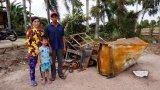Chập điện cháy nhà, 1 gia đình lâm vào hoàn cảnh khó khăn