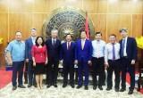 Tổng Thư ký Tổ chức xúc tiến du lịch Hàn Quốc chào xã giao lãnh đạo tỉnh Long An
