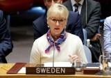 Ngoại trưởng Thụy Điển Margot Wallstrom thông báo từ chức