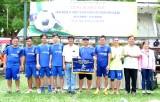 TP. Tân An tổ chức giải bóng đá kỷ niệm 10 năm thành lập Thành phố