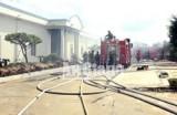 An Giang: Kịp thời dập tắt vụ hỏa hoạn tại công ty may nệm