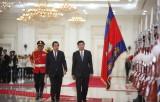 Campuchia và Lào nâng quan hệ lên đối tác chiến lược toàn diện lâu dài