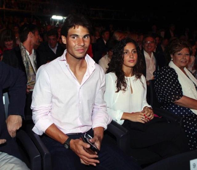 Rafael Nadal từng gây chú ý với mối tình bền chặt, son sắt cùng Xisca Perello