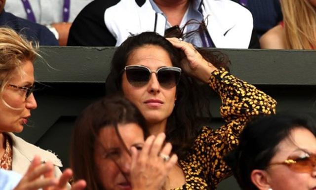 Xisca Perello thường xuyên xuất hiện trên khán đài cổ vũ cho bạn trai