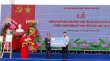 Tập đoàn Bamboo Capital tài trợ TP.Tân An xây nhà vệ sinh công cộng