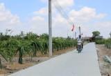 Tân Trụ: Nhân dân đóng góp gần 257 tỉ đồng xây dựng nông thôn mới