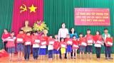 Ngân sách tỉnh Long An phân bổ 5 tỉ đồng cho các hoạt động hỗ trợ trẻ em