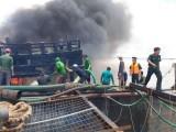 Đã tìm thấy thi thể nạn nhân vụ nổ tàu cá khiến 8 người thương vong