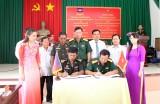 Thủ Thừa ký kết hợp tác với Chi khu quân sự Svay Anto