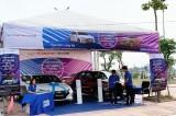 Huyndai Long An trưng bày xe tại Hội chợ triển lãm Nông nghiệp – Thương mại