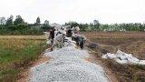 Người dân Châu Thành đóng góp hơn 551 tỉ đồng bê tông hóa đường nông thôn