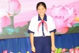 Gặp gỡ liên đội trưởng nhận giải thưởng Kim Đồng