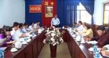 Đoàn giám sát HĐND tỉnh Long An làm việc tại Đức Hòa về giải quyết khiếu nại, tố cáo