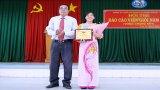 Hội thi Báo cáo viên giỏi năm 2019: Thí sinh Trịnh Thị Tươi - Trường Chính trị Long An đoạt giải Nhất