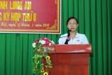 Cử tri huyện Châu Thành quan tâm vấn đề an toàn vệ sinh thực phẩm