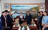 Chủ tịch Quốc hội Nguyễn Thị Kim Ngân thăm làm việc tại tỉnh Vientiane