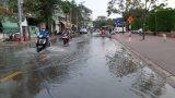 Long An: Cảnh báo triều cường các huyện vùng hạ lưu