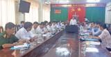 Ban Thường vụ Tỉnh ủy Long An kiểm tra công tác cán bộ tại huyện Tân Thạnh