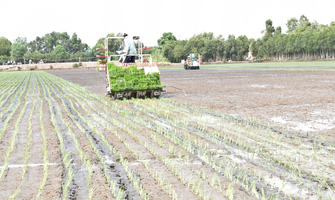 Developing agriculture is the inevitable direction